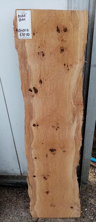 Oak Burr Board OH0116