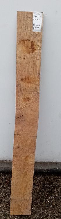 Brown Oak Board OH0124