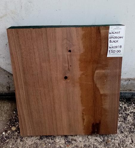 American Black Walnut Board WA0078
