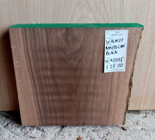 American Black Walnut Board WA0075