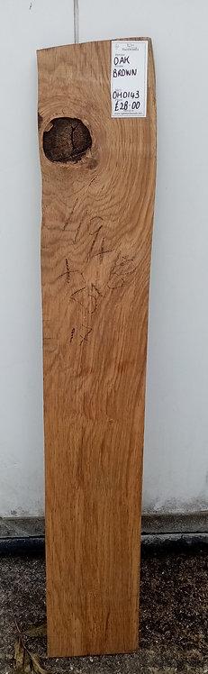Brown Oak Board OH0143