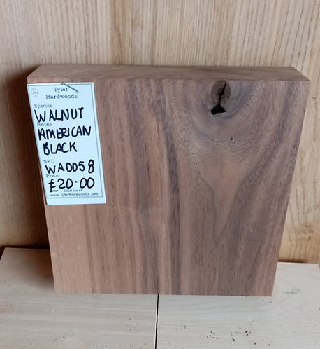 American Black Walnut Board WA0058