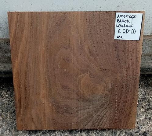 American Black Walnut Board W2