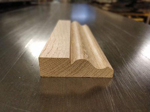 Prime European Oak Architrave Ogee 19 x 68 mm
