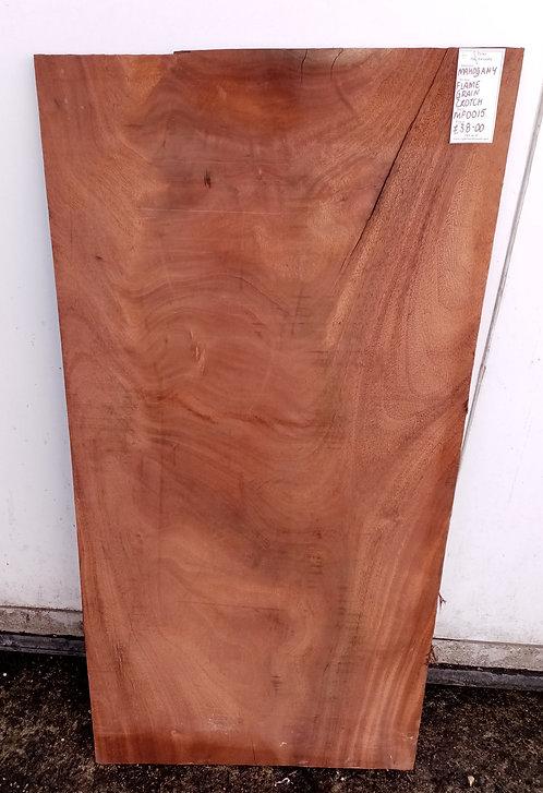 Mahogany Flame Grain Board MF0015