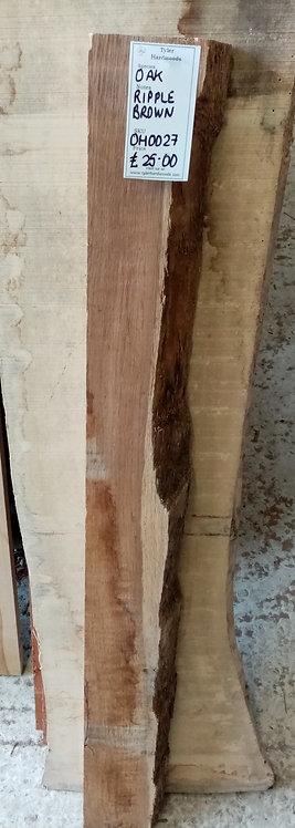 Ripple Brown Oak Board OH0027
