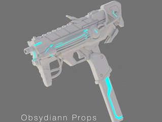 Cyberspace Sombra Machine Pistol