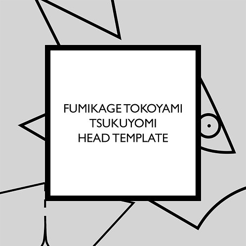 Fumikage Tokoyami Tsukuyomi Head Template