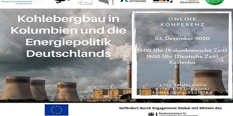 La minería del carbón en Colombia y la política energética de Alemania