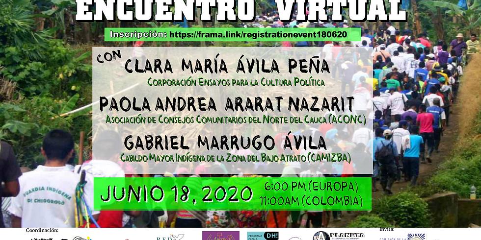 Memoria para la Defensa de la VIDA -  Relatos sobre Colombia