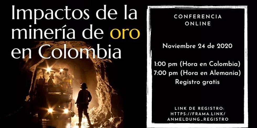 Efectos de la extracción legal e ilegal de oro en la región cafetera en Colombia