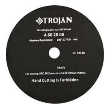 А60 Абразивный отрезной диск  HRC 60 Ø 300 мм 10 шт