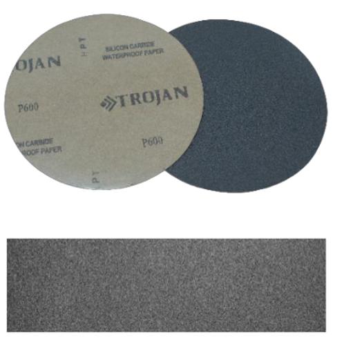 Шлифовальная бумага (SiC P2500, Ø 200 мм, 100 шт) неклейкая
