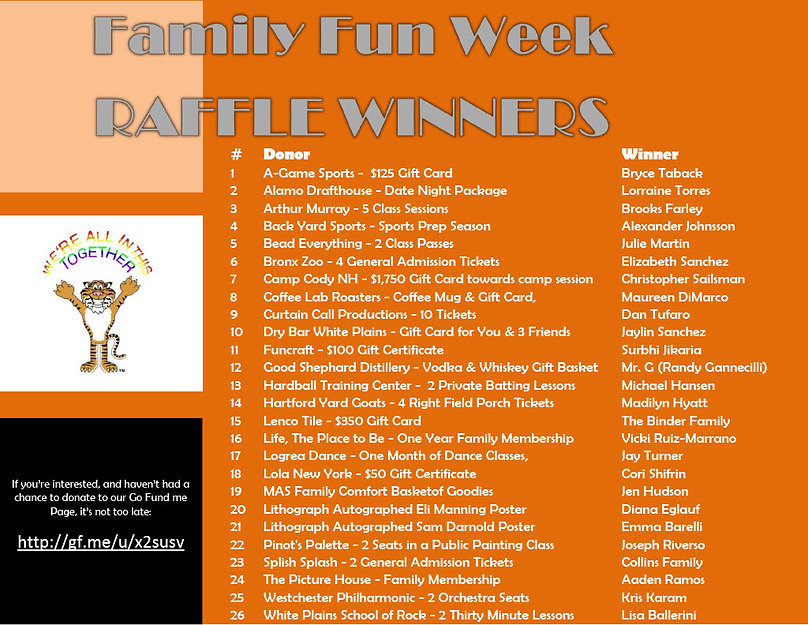 Family Fun Week  Winners Announcement 51