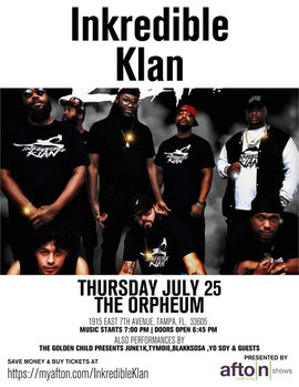 InkredibleKlan @ The Orpheum July 25th
