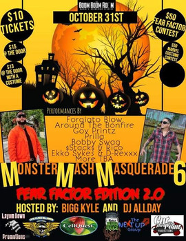 Monster Mash Masquerade Party Performance