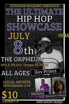 The Ultimate Hip Hop Showcase @ the Orpheum