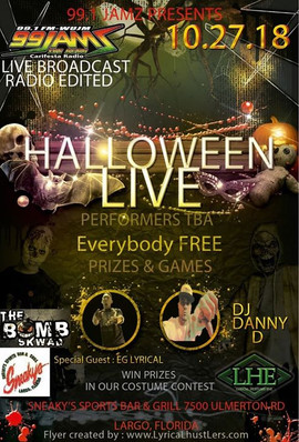 99Jams Halloween Party Performance