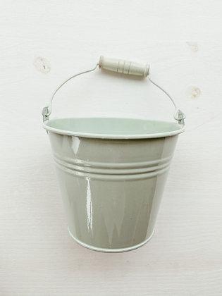 Cubo de metal mint