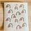 Thumbnail: Bayeta de cocina compostable - Flores - pack 3