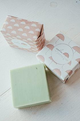 Jabón natural de eucalipto