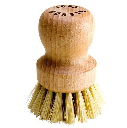 Cepillo Ollas fibra natural suave