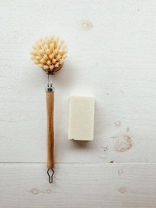 Pastilla de jabón lavavajillas