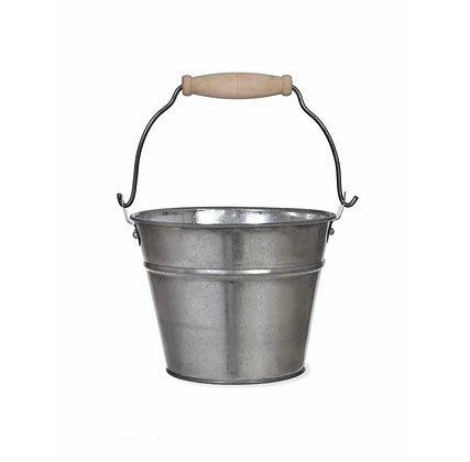 Cubo de metal para pinzas