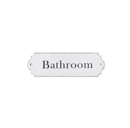Cartel bathroom
