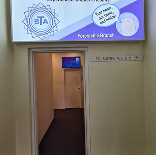 Foresetville Office Entry