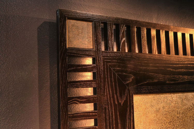 Headboard corner detail