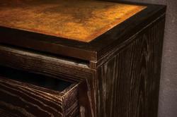 Dresser corner detail