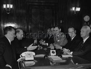 Besök av ordföranden av svenska handelskommitté till Sovjetunionen den 25 maj 1971