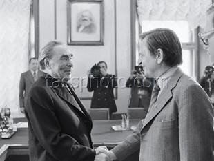 Sveriges premiärminister Olof Palmes besök i Sovjetunionen den 12 juni 1981