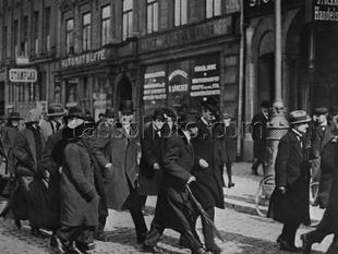 Vladimir Lenin i Stockholm den 1 april 1917