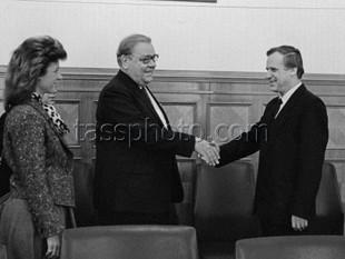 Визит делегации деловых кругов Швеции в СССР, 17 февраля 1987