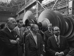 Prins Bertil på besök i Sovjetunionen den 10 augusti 1973