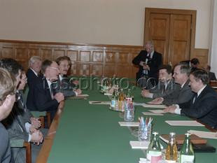 Styrelseordföranden för IKEA företaget Ingvar Kamprad besök till Sovjetunionen.  22 april 1988