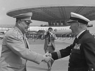 Besök av Sveriges överbefällhavare Torsten Rapp till Sovjetunionen den 10-16 maj 1967
