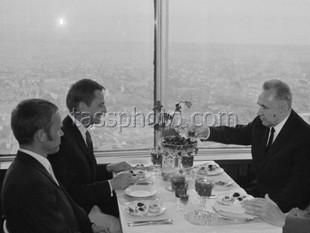 Sveriges statsminister Olof Palme på besök i Sovjetunionen 17-18 juni 1970