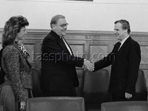 Den svenska affärsdelegationens besök i Sovjetunionen den 17 februari 1987