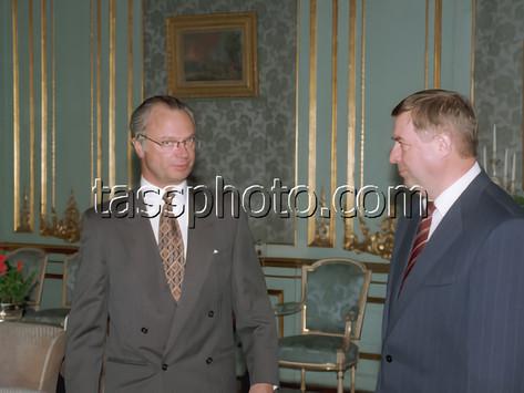 Den Ryska Federationens delegationen från Statsduman på besök i Sverige den 6 mars 1996
