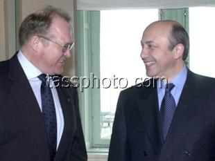 Визит Министра иностранных дел России И.С.Иванова в Швецию, 9 марта 2001