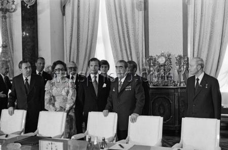 Carl XVI Gustaf och Drottning Silvia på besök i Sovjetunionen den 7-15 juni 1978