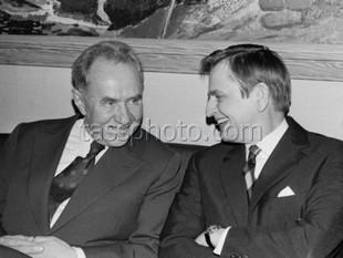 Sovjetunionens premiärminister Alexej Kosygin på besök i Sverige 2-4 april 1973