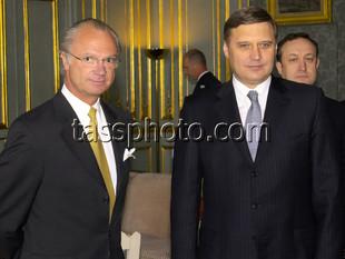 Визит Председателя Правительства России М.М.Касьянова в Швецию 25 апреля 2001