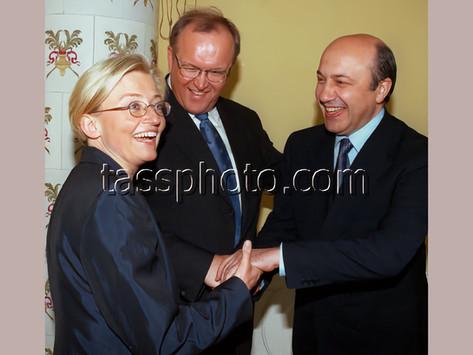 Rysslands Utrikesminister Igor Ivanov på besök i Sverige 26-27 maj 1999