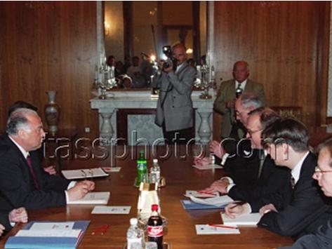 Toppmötet mellan Rysslands och Sveriges regeringschefer, Moskva, 29 oktober 1996