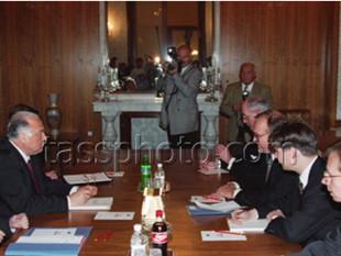 Встреча глав правительств России и Швеции, Москва, 29 октября 1996