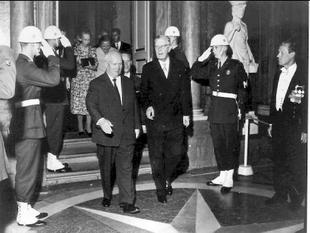 Nikita Chrusjtjovs besök till Sverige, 22-24 juni år 1964